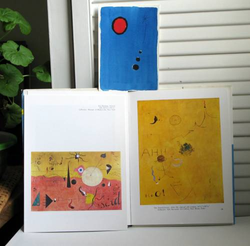 Miro paintings to show shapes lines and spacing